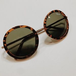 • CRUSH • boho round tortoise shell sunglasses